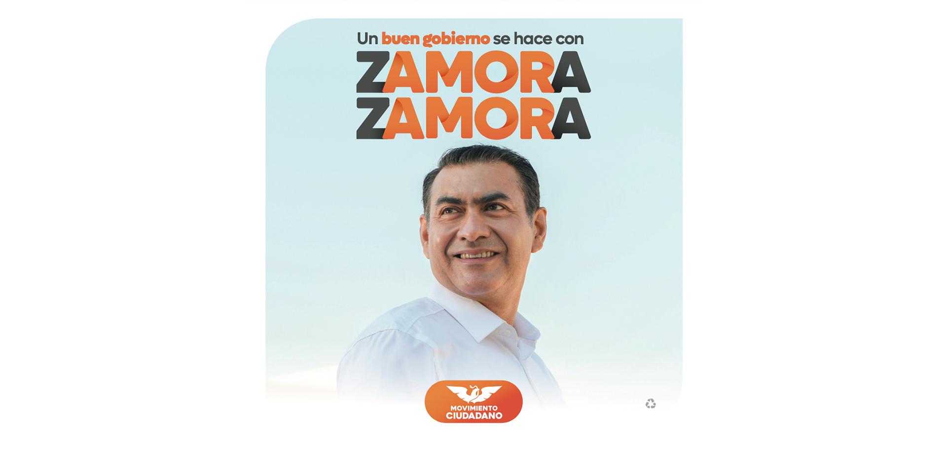 Un buen gobierno se hace con Zamora Zamora
