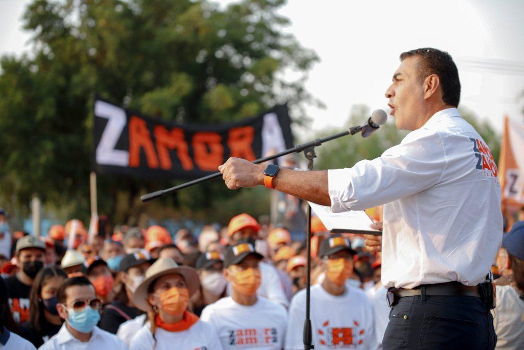 Salvador Zamora cierre de campaña 2